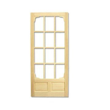 DOUGLAS FIR OR PINE SCREEN DOOR  sc 1 st  Pinterest & 36 best Trims Moldings Screen Doors u0026 Finials images on Pinterest ...