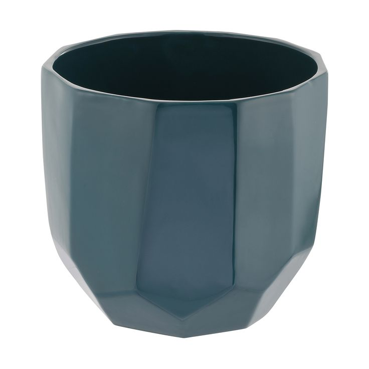 Geometric Pot - Emerald | Kmart