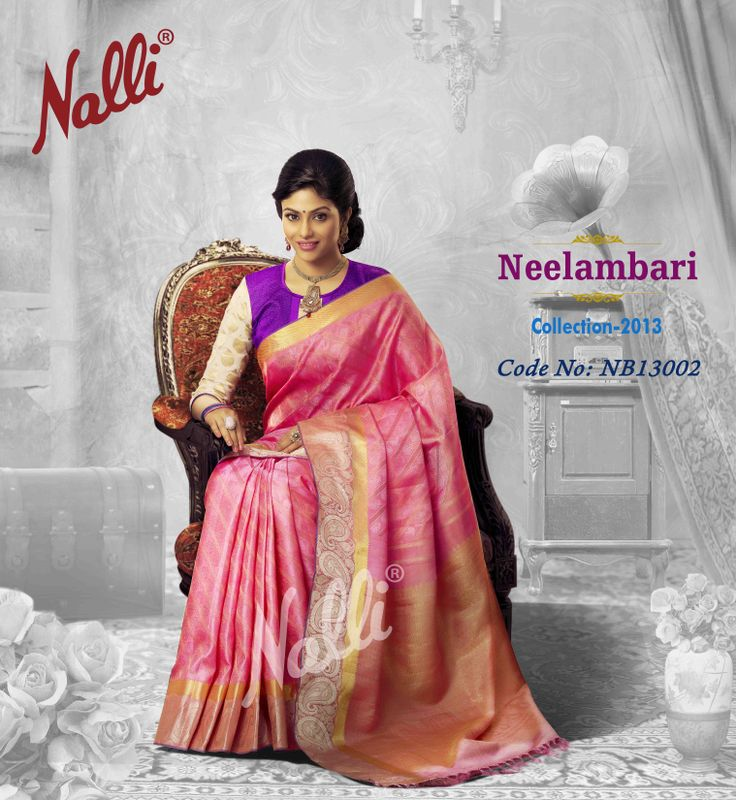 """Product code NB13002 - A colour palette of pink, purple and gold blended with a traditional twist – paisely patterns or """"Mankolam"""""""
