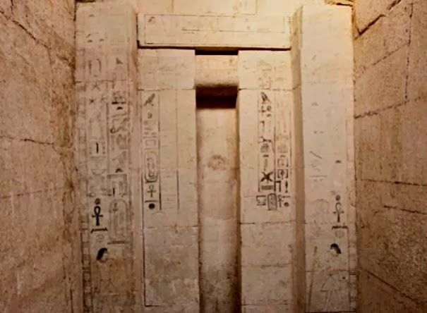 The tomb of Shepseskaf 'ankh, Head of the Physicians of Upper and Lower Egypt who datesto the Fifth Dynasty of the Old Kingdom in Egypt [Credit: Arab Republic of Egypt Ministry of State for Antiquities Affairs]The tomb, part of a 21 metre (70 foot) by 14 metre (46 foot) plot, with four-metre (13 feet) high walls, was discovered at Abusir, southwest of Cairo, senior antiquities ministry official Ali al-Asfar said.