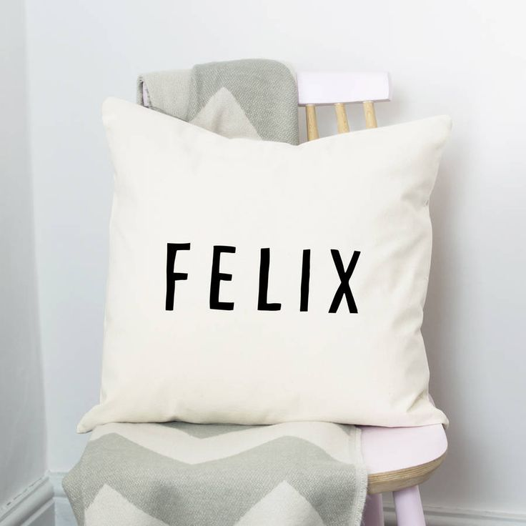 Are you interested in our bold and contemporary name cushion? With our simple and stylish name cushion you need look no further.