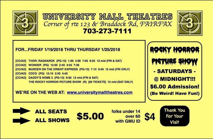 Coming Soon - Movies Showtimes!!!