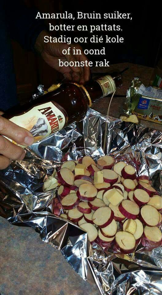 Patats met Amarula