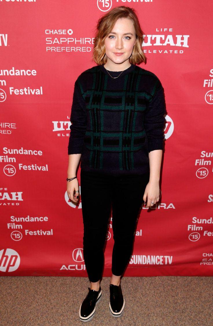 SAOIRSE RONAN at Stockholm, Pennsylvania Premiere at 2015 Sundance Film Festival