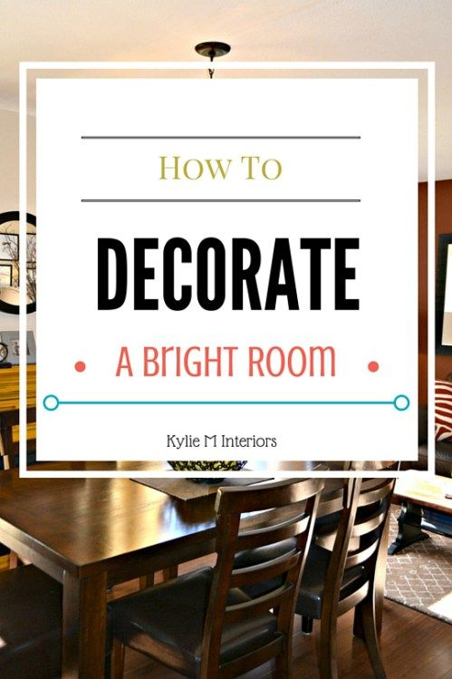 how to decorate a high energy bright room 3 case studies - Decorate Online