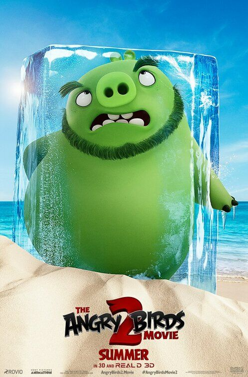 The Angry Birds Movie 2 Movie Poster Angry Birds Movie Angry Birds Full Movies