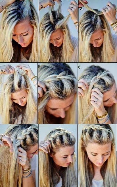 Fabulous 1000 Ideas About Braid Bangs On Pinterest Modern Haircuts Sexy Hairstyles For Women Draintrainus