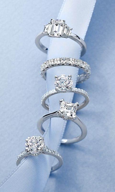 Blue Nile's handcrafted engagement and wedding rings are perfectly designed to take your breath away.