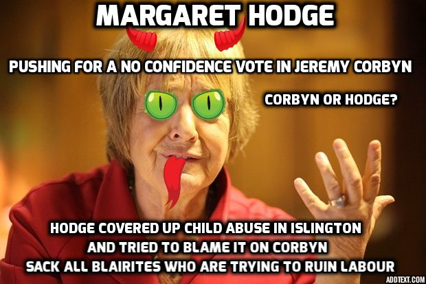 BDTN.: POLL: Should Margaret Hodge Stand Down?