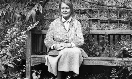 Dame Iris Murdoch, author of too many good novels and essays to list here.