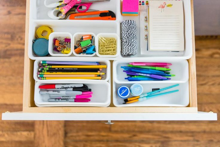 15 Steps to a Decluttered Kitchen in 2020 | Junk drawer ...