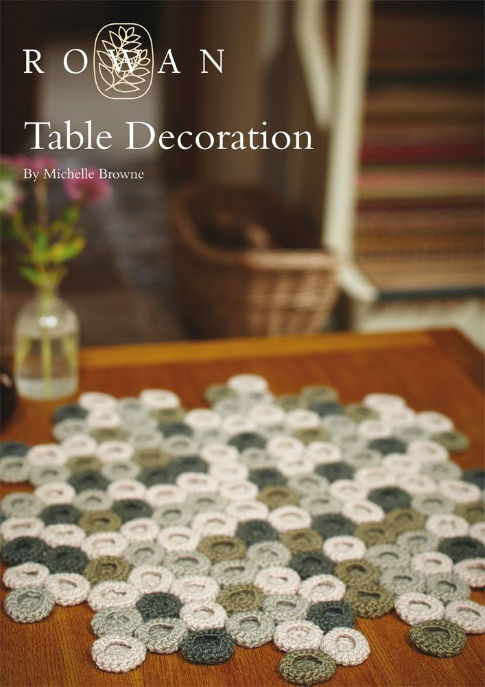 Table Decoration in Rowan Cocoon. Discover more Patterns by Rowan at LoveKnitting. The world's largest range of knitting supplies - we stock patterns, yarn, needles and books from all of your favorite brands.