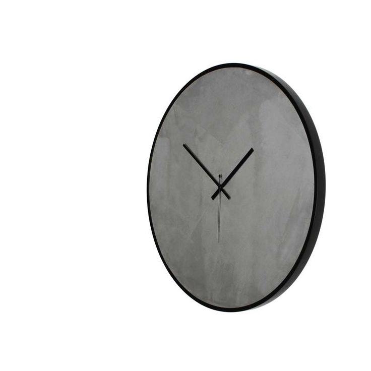 Ρολόι τοίχου CONCRETE handmade designed by xline