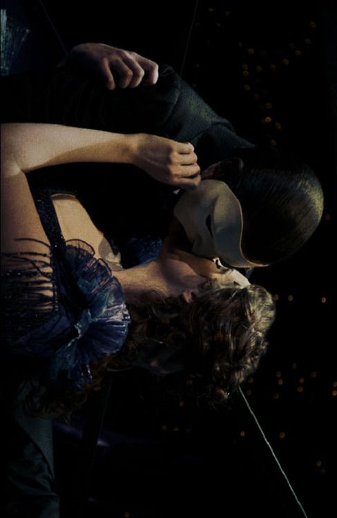 Christine's death scene. As much as I love this scene, I really wish she had taken his mask off for their last kiss (the wig is optional)  #loveneverdies