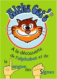 Mémorys Alpha Cat's sur les lettres majuscules et minuscules de l'alphabet
