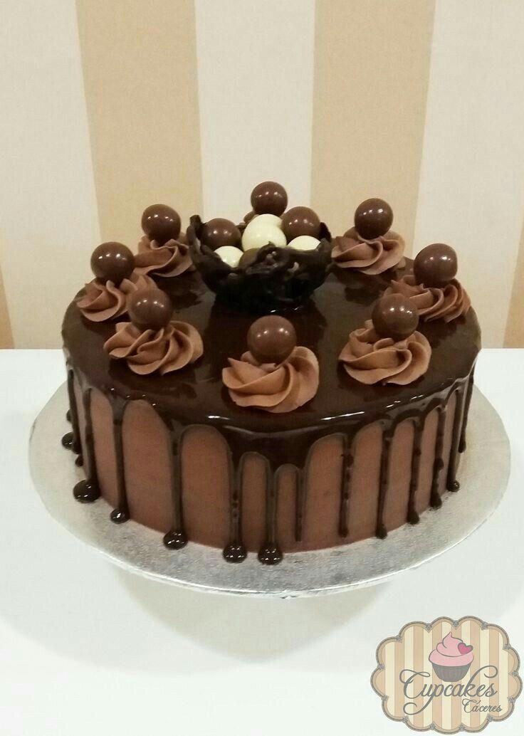 Thilk Ha Jaan Em 2020 Bolo De Chocolate Decorado Bolos E Doces
