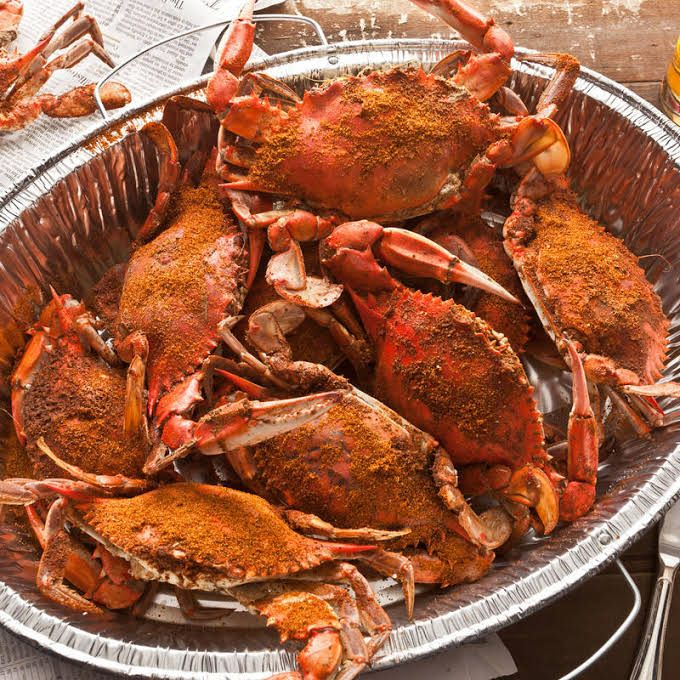 Old Bay Steamed Blue Crabs Recipe | Yummly | Recipe | Blue crab recipes,  Crab recipes, Blue crab boil recipe