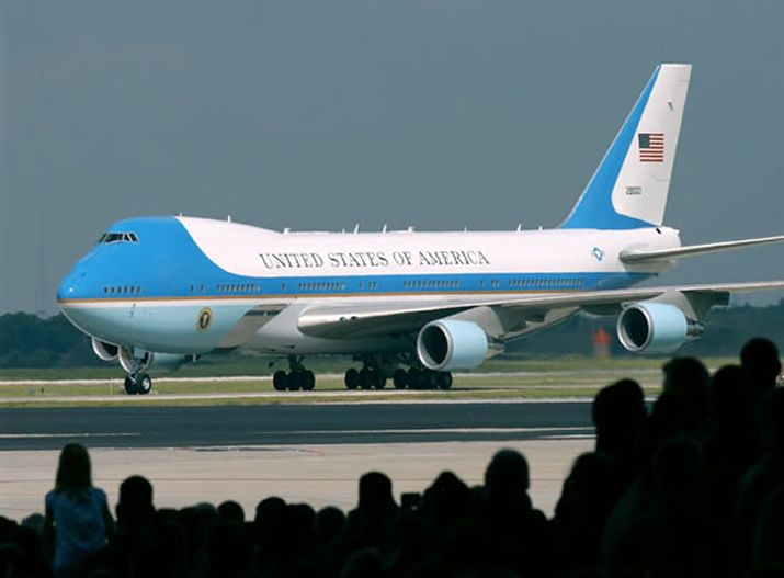 Air Force One Boeing 747-200B - The United States Air Force aircraft that carries the President of the United States.