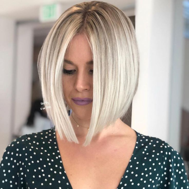 Hairstyles For Women Fall 2020 Blonde Bob Hairstyles Angled Bob Hairstyles Bob Hairstyles