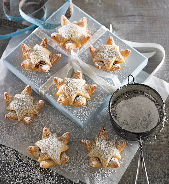 Star fruit-mince tarts: The tarts will keep for up to five days in a sealed container in a cool place or in the fridge. You can freeze them for up to four weeks.