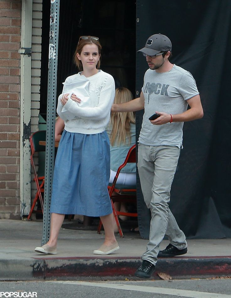 Emma Watson Steps Out With the New Man in Her Life!