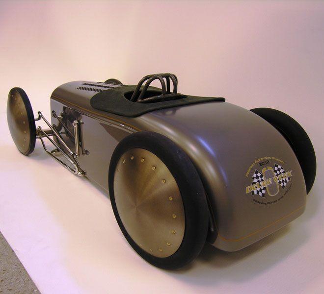 It's a pedal car!