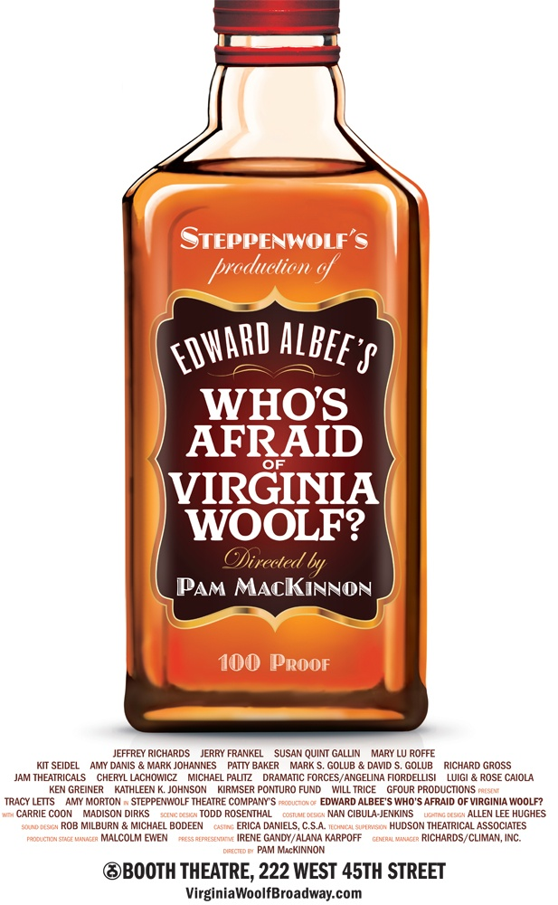October 13, 2012 - WHO'S AFRAID OF VIRGINIA WOOLF?