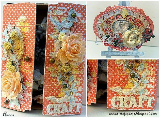 'CRAFT WARDROBE' Project BIRTHDAY 'Craft Szafa Challenge Blog' annar-mojepasje.blogspot.com