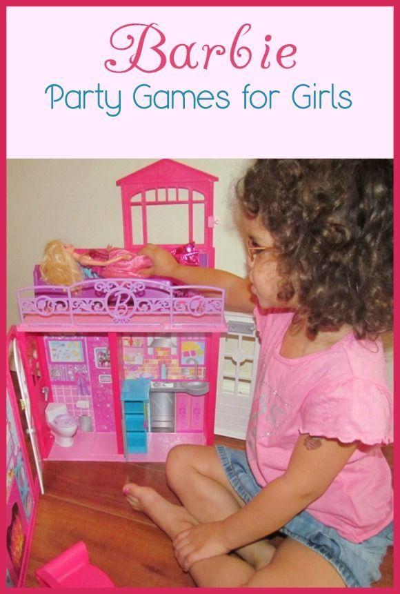 Barbie Party Games For Kids Glamorous Fun Girls