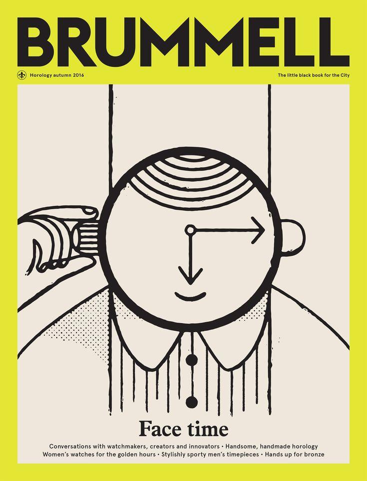 Cover for Brummell Magazine.