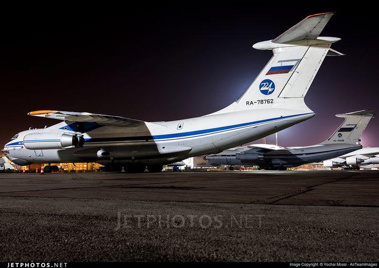 Photo of RA-78762 - Ilyushin IL-76MD - Russia - 224th Flight Unit State Airline