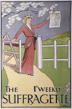 Advertising The Suffragette: 1912