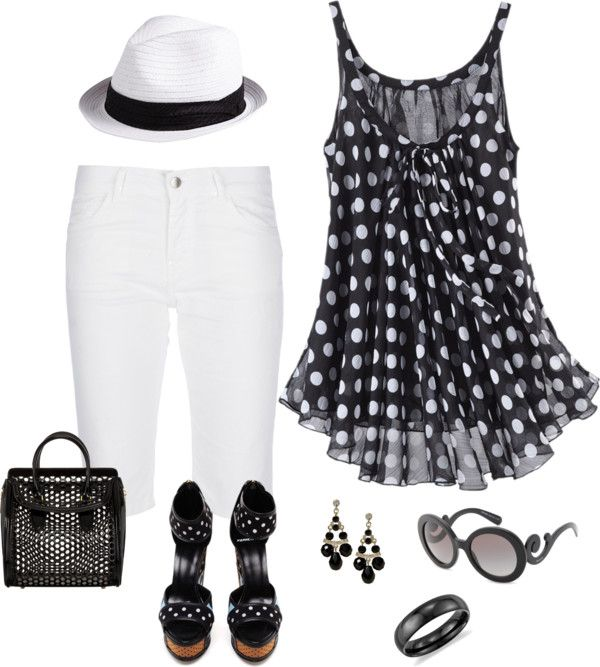 """""""Adorable Summer Outfit"""" by keri-cruz on Polyvore"""