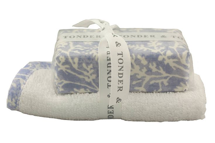 £6.50 Soap & Facecloth Gift Set that is made in England