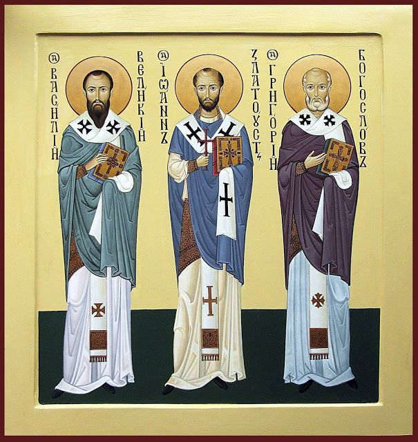 The Three Holy Hierarchs  Whispers of an Immortalist: Icons of the Venerables 5
