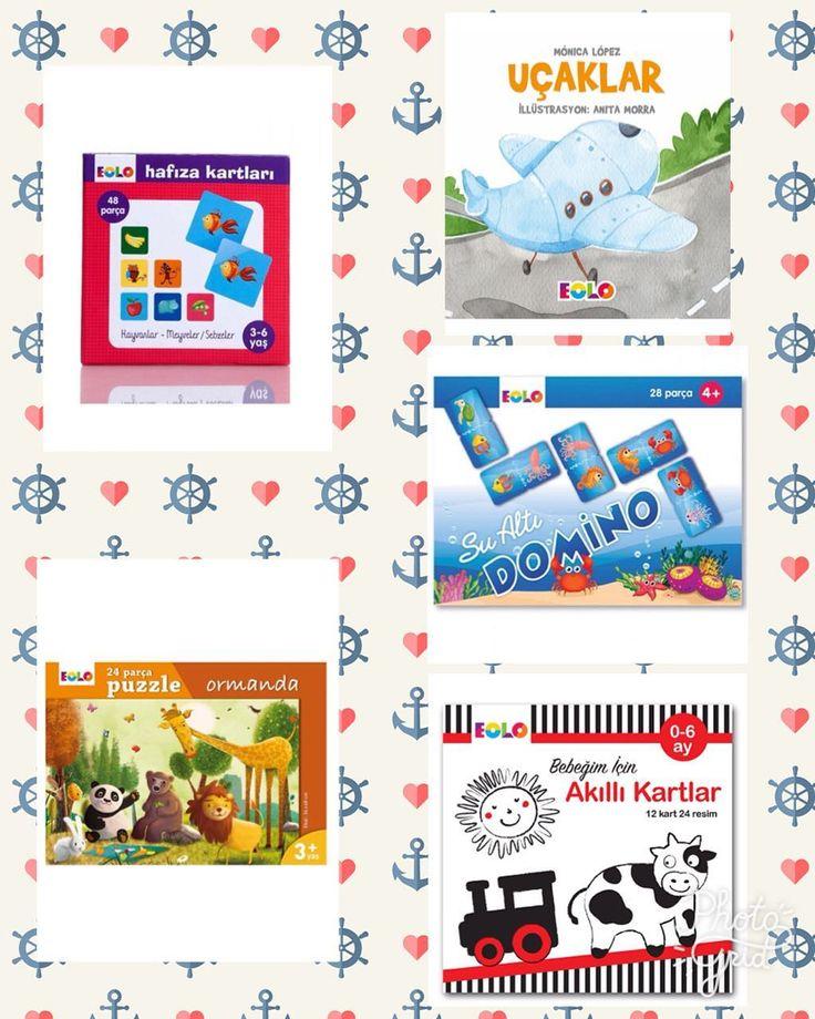 Hem eğitici hem eğlenceli Eolo ürünleri Markabebe.com'da! #markabebe #eolo #eğiticiöğreticiaktiviteler #çocukoyunu