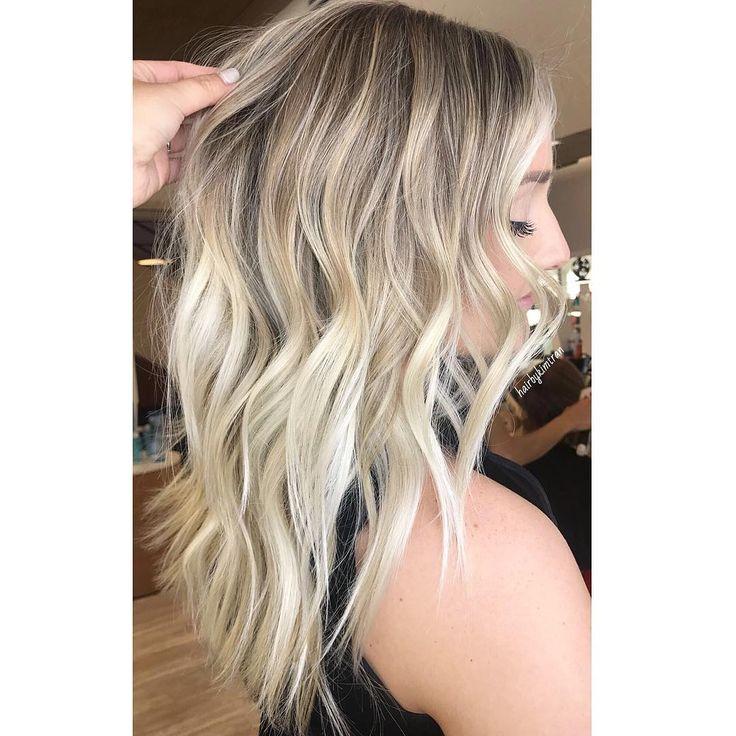 """417 tykkäystä, 5 kommenttia - Kim Tran (@hairbykimtran) Instagramissa: """"Buttery Blonde 💖 #HBKT #HairbyKIMTRAN"""""""
