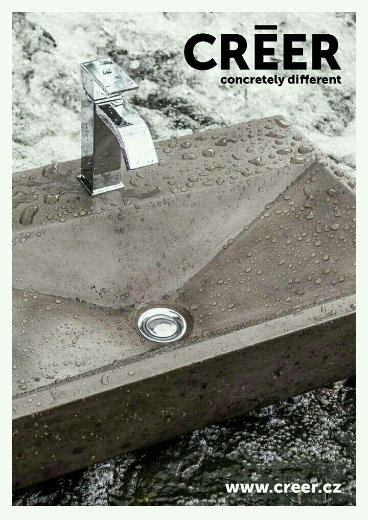 concrete sink http./www.creer.cz