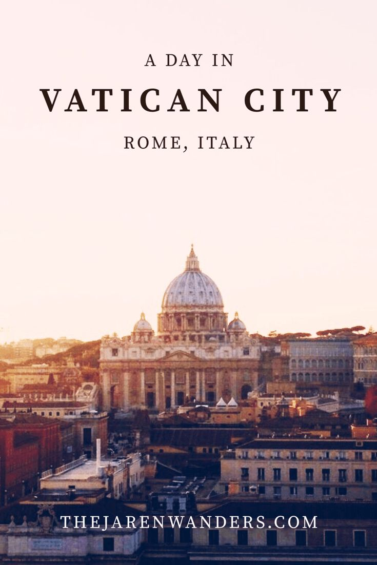 A day in Vatican City   The Jaren Wanders   Rome   Italy   Vatican City   St. Peter's Basilica   Musei Vaticani   Sistine Chapel   Castel Sant'Angelo   Ponte Sant'Angelo   Europe   Backpacking   Travel   Budget