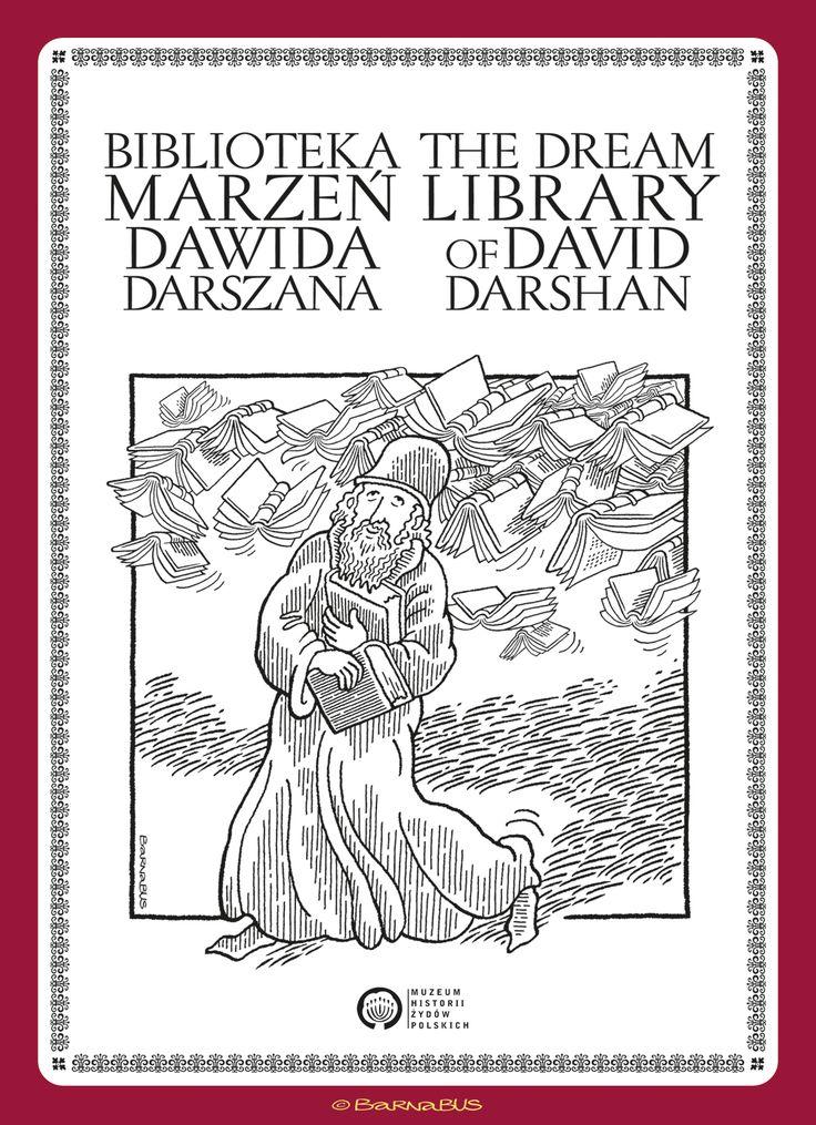 © Barnabus - Historia obrazkowa dla Muzeum Historii Żydów Polskich ▪ Pictorial story for The Museum of the History of Polish #Jews - #cover.