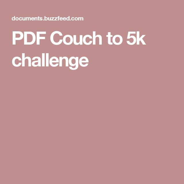 17 Best Ideas About Couch To 5k On Pinterest