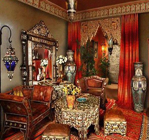 33 best Jacqueline Luxe\'s Moroccan Home images on Pinterest | Roll ...