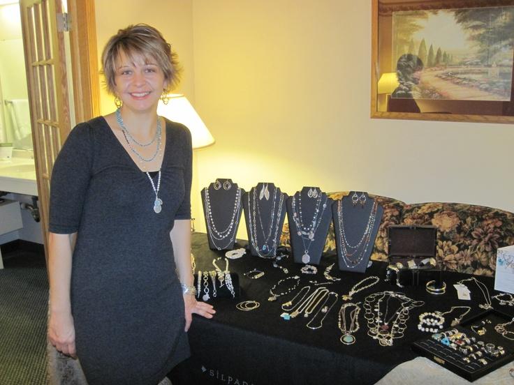Nikki Dornbusch with Silpada had a great selection of jewelry.: Nikki Dornbusch, Weekend, Jewelry, Women, Selection