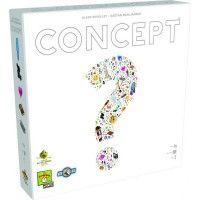 A Concept egy egészen új jellegű, feladvány kitalálós játék, amit már az Év játéka (Spiel des jahres) díjra is jelöltek. Akik az Activityt szeretik, azok a Conceptet imádni fogják!