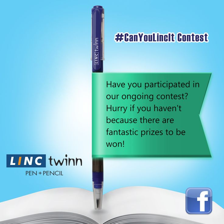 Get a chance to win exciting rewards with our ongoing contest #CanYouLincIt. #Contest #Gifts #LincPens #Pens