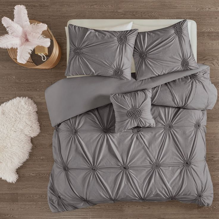 Madison Park Apartments California: Madison Park Lorilyn 4-piece Duvet Cover Set In 2019