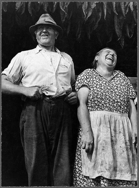 Jack Delano. Mr. and Mrs. Andrew Lyman, Polish tobacco farmers near Windsor Locks, Connecticut. 1940. Via LOC.