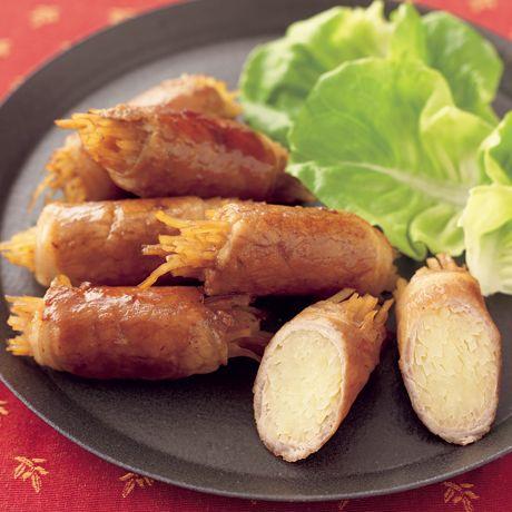 シャキシャキポテトの肉巻きしょうが焼き | 吉田瑞子さんの肉巻きの料理レシピ | プロの簡単料理レシピはレタスクラブニュース