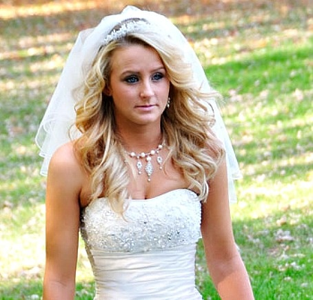 Leah Messer's gorgeous hair on her wedding day