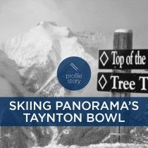 Video: Skiing Panorama's Taynton Bowl